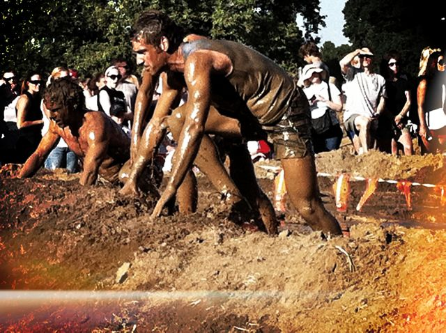Day 156 - Merrell Down & Dirty Mud Run - Kevyn Bashore's iPhone Photo of the Day - Picture Show